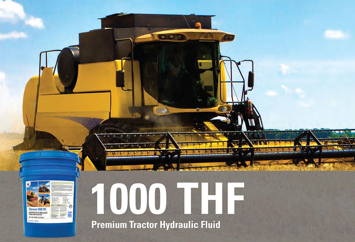Chevron 100 THF Premium Tractor Hydraulic Fluid -Advert-Sutton-System-Sales