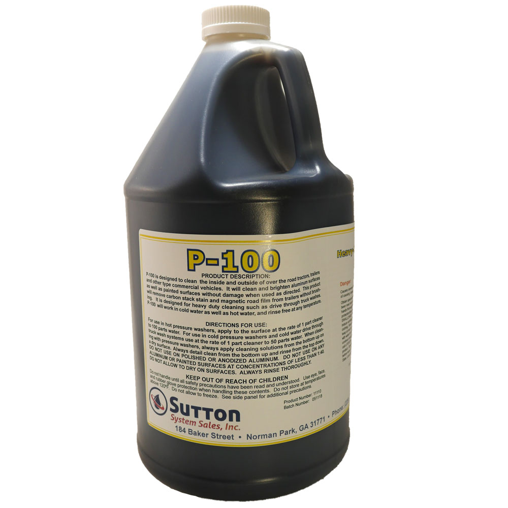 P100 truck wash concentrate